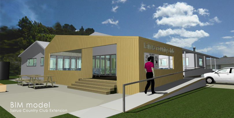 Tairua Country Club BIM model